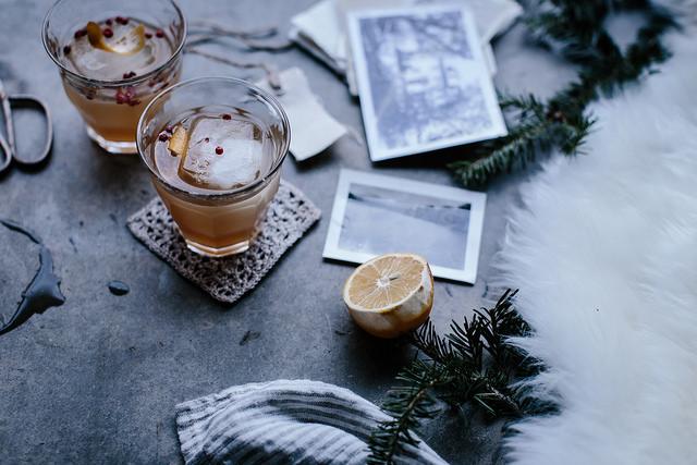 juldrink med ingefära