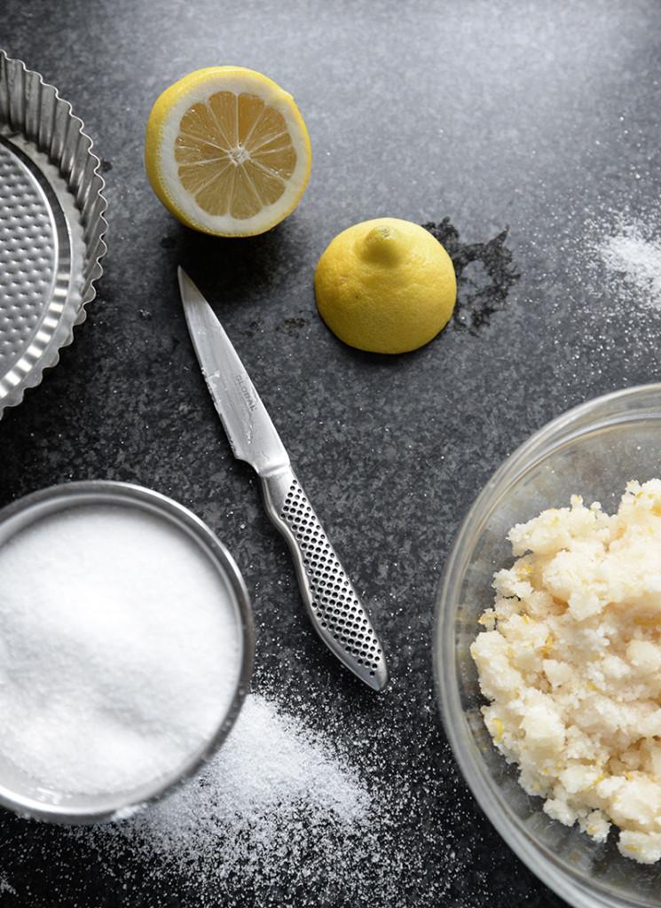 Använd citron till ditt kroppskrubb
