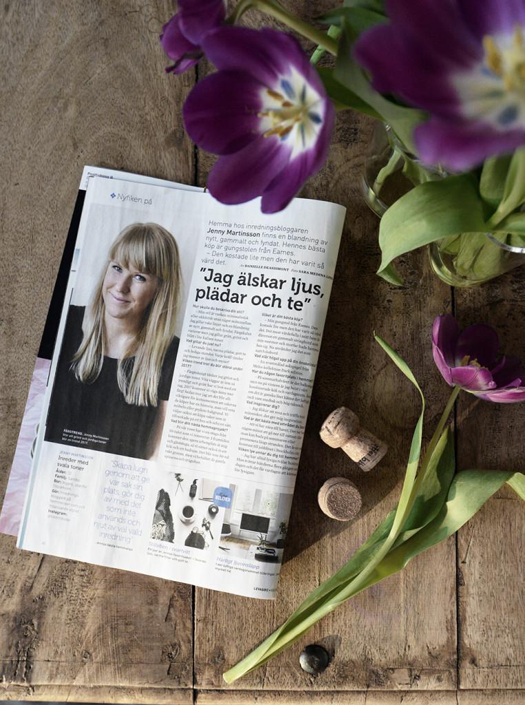 Jenny Martinsson från Hemtrender i Expressens Leva & Bo