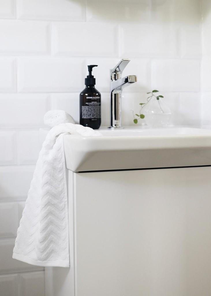 litet badrum, små badrum, svedberg, handfat forma i litet badrum, forma handfat i litet badrum
