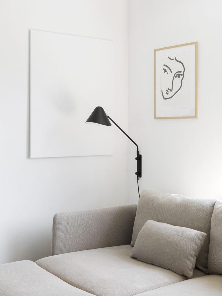 outlet store d71c3 42f1b Ljusa träslag, beige och vita toner och svarta kontraster är hemmets  genomgående tema. Med en hel del godbitar som Fanny gjort själv, ...
